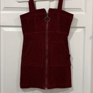 Corduroy dress jumper